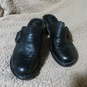 BOC Leather Clogs